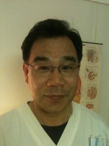 小顔整顔した後の西田先生のお顔。