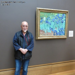 "Van Gogh ""Iris"" at Getty Museum"